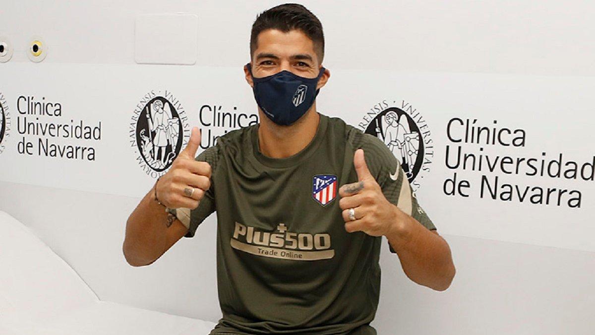 Атлетико официально объявил о трансфере Суареса
