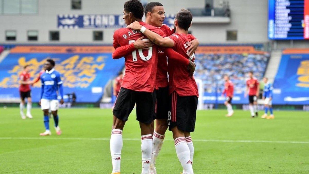 """Неймовірне везіння """"червоних дияволів"""" у відеоогляді матчу Брайтон – Манчестер Юнайтед – 2:3"""