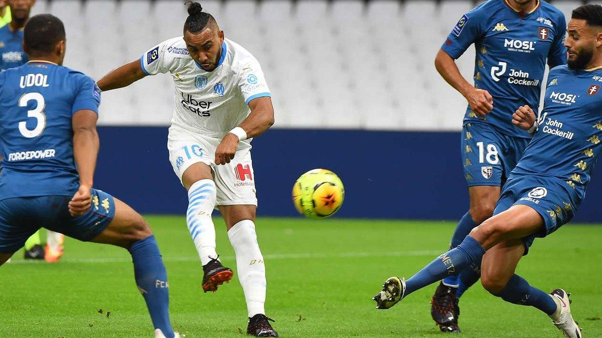 Марсель на последних минутах спас ничью в матче с Метцом, Ренн разбил Сент-Этьен и возглавил чемпионат Франции