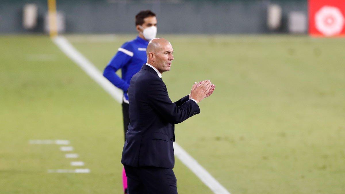 Зидан добыл юбилейную победу в Ла Лиге во главе Реала