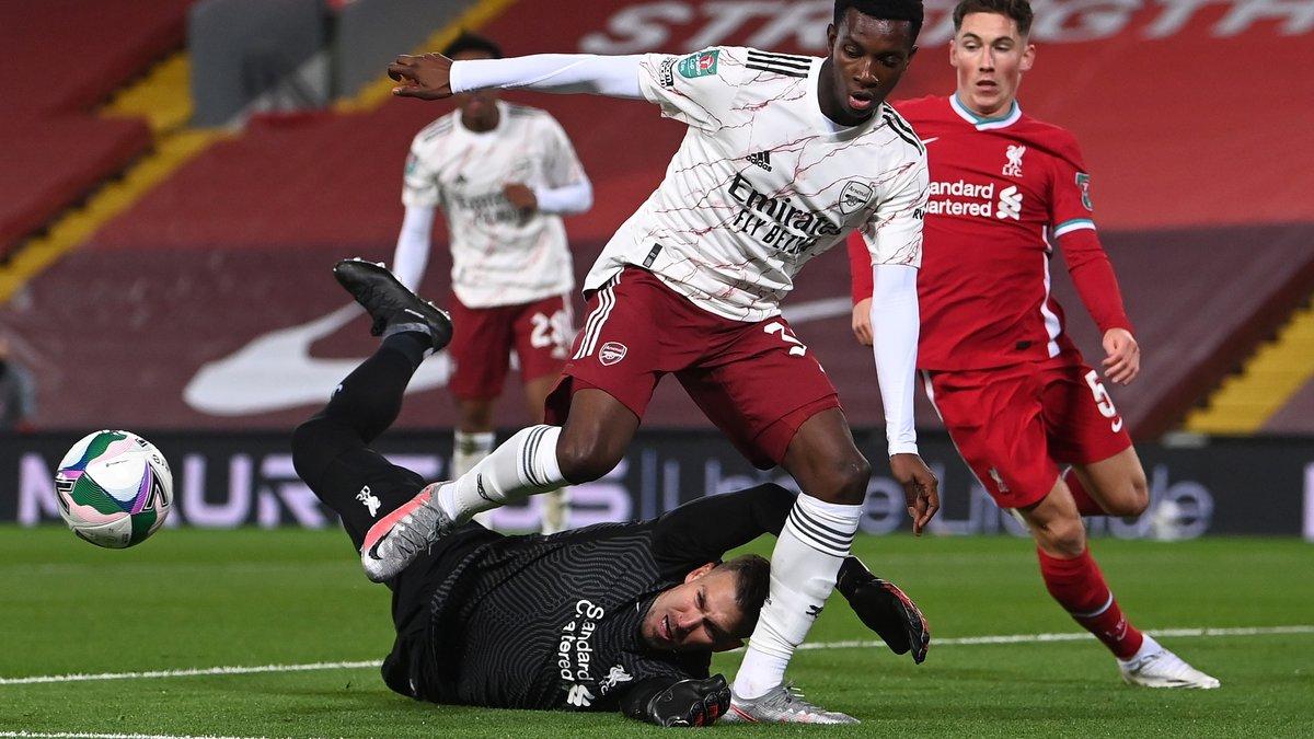 Фіаско Ліверпуля проти Арсенала у відеоогляді поєдинку Кубка англійської ліги
