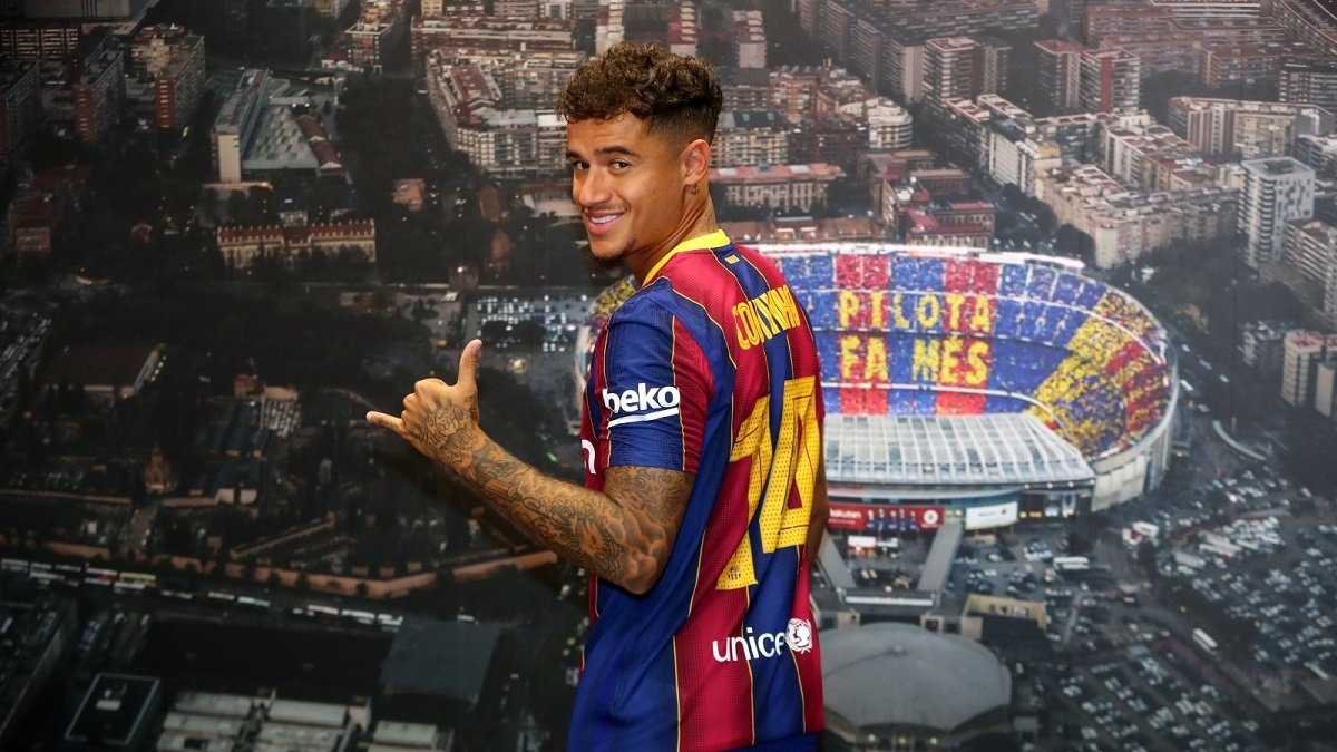 Коутінью ефектно присоромив рефері матчу Барселона – Вільяреал