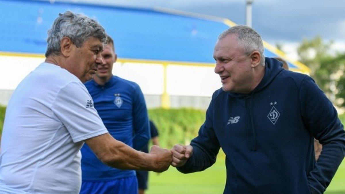 Суркис ожидает трансферных запросов от Луческу после выхода в групповой этап Лиги чемпионов
