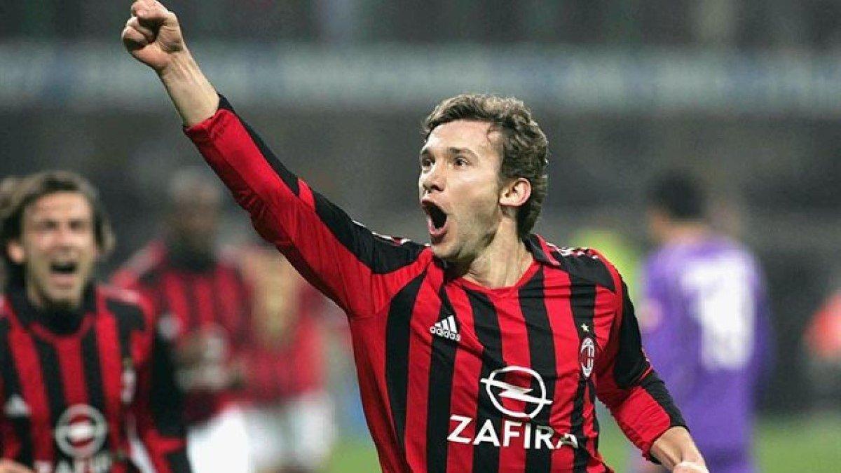 УЕФА вспомнил голы Шевченко в составе Милана в Лиге чемпионов по случаю дня рождения украинца – ностальгическое видео