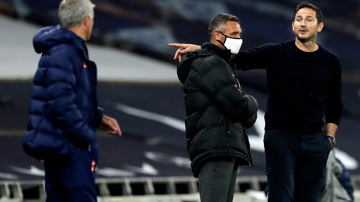 Тоттенхэм – Челси: Моуринью и Лэмпард устроили горячую перепалку во время матча