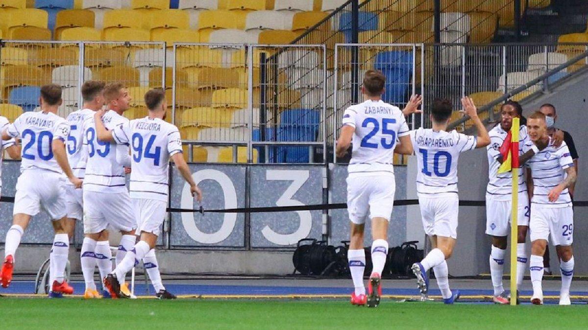 Динамо обійшло ЦСКА та Валенсію у клубному рейтингу УЄФА