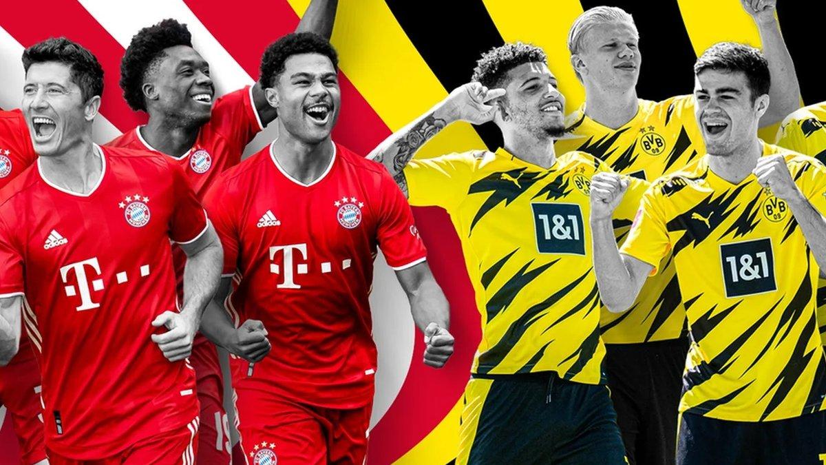 Боруссия Д – Бавария: стартовые составы и онлайн-трансляция Суперкубка Германии