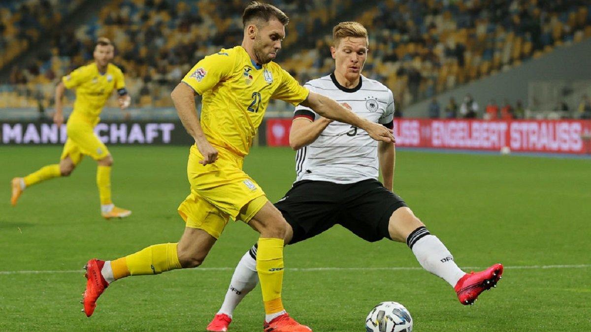 Україна – Німеччина – 1:2 – відео голів і огляд матчу