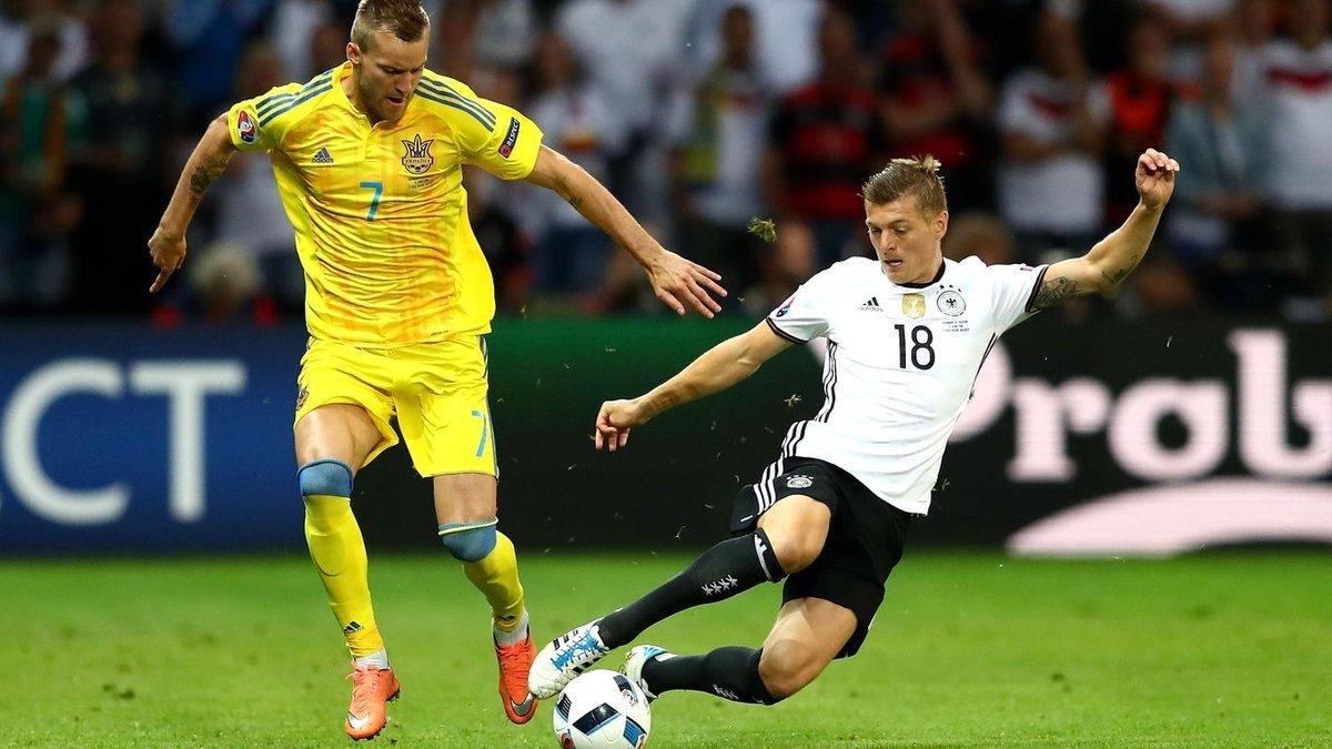 Україна – Німеччина: анонс матчу Ліги націй УЄФА