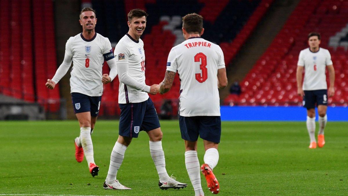 Англия одержала волевую победу над Бельгией и возглавила группу А2 Лиги наций УЕФА