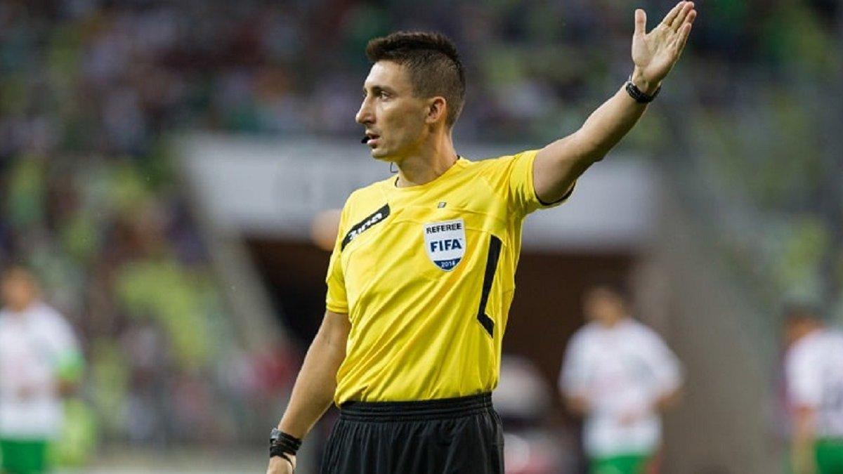 Украина – Испания: УЕФА назвал бригаду арбитров на поединок Лиги наций