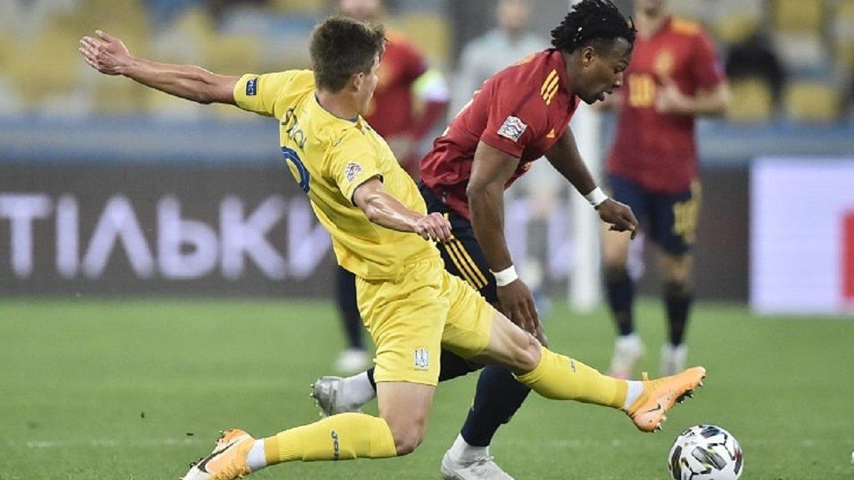 Україна – Іспанія – 1:0 – відео гола Циганкова та огляд матчу
