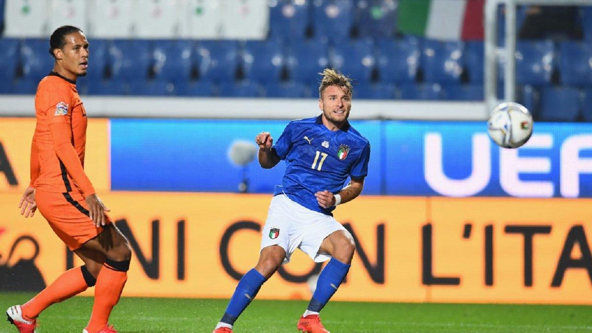 Италия – Нидерланды – 1:1 – видео голов и обзор матча