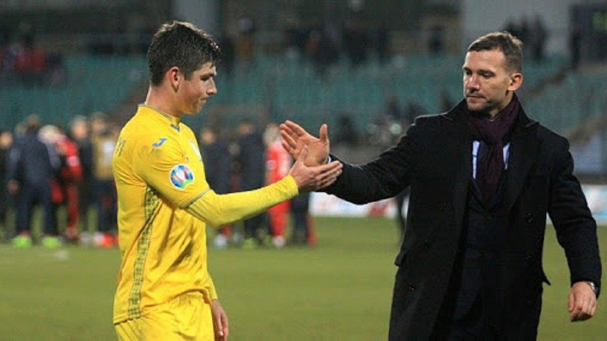 Шевченко прокомментировал потерю Малиновского на матч против Испании – тренер сборной Украины не драматизирует