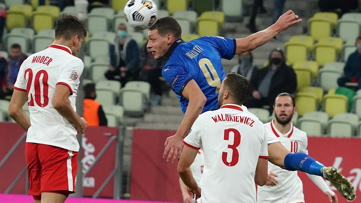 Манчіні знайшов головну причину невдачі збірної Італії у матчі проти Польщі