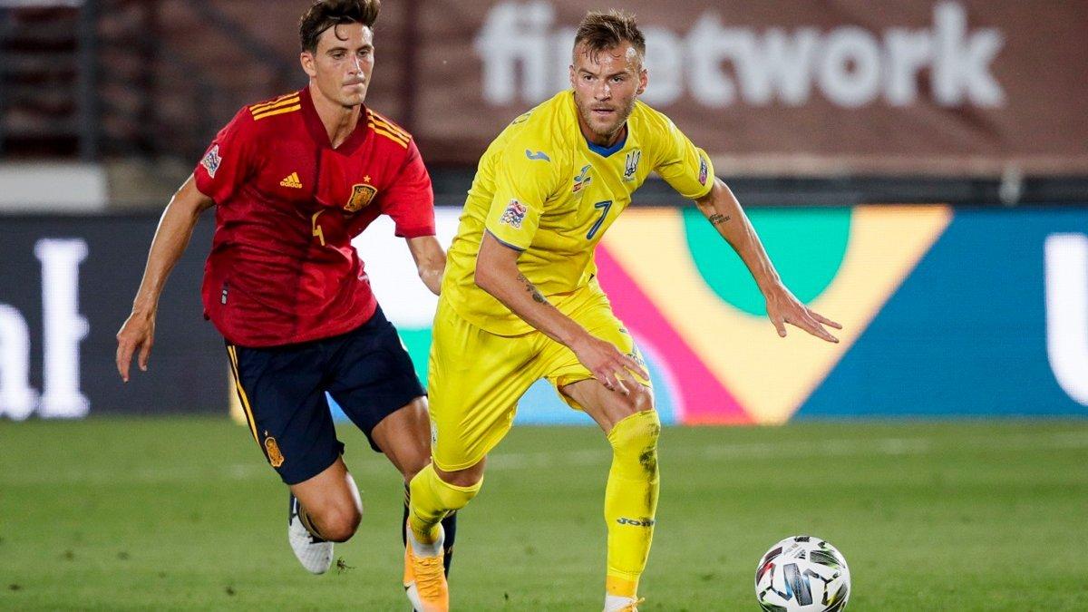 Україна – Іспанія: анонс матчу Ліги націй УЄФА