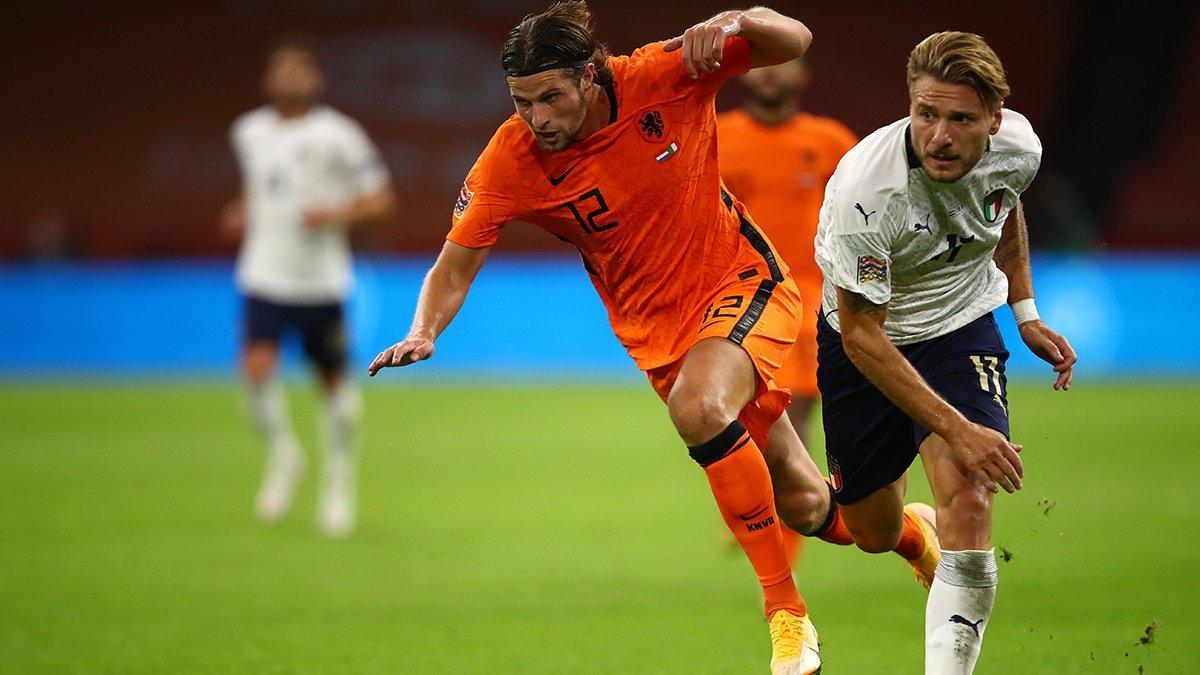 Італія – Нідерланди: онлайн-трансляція матчу Ліги націй УЄФА