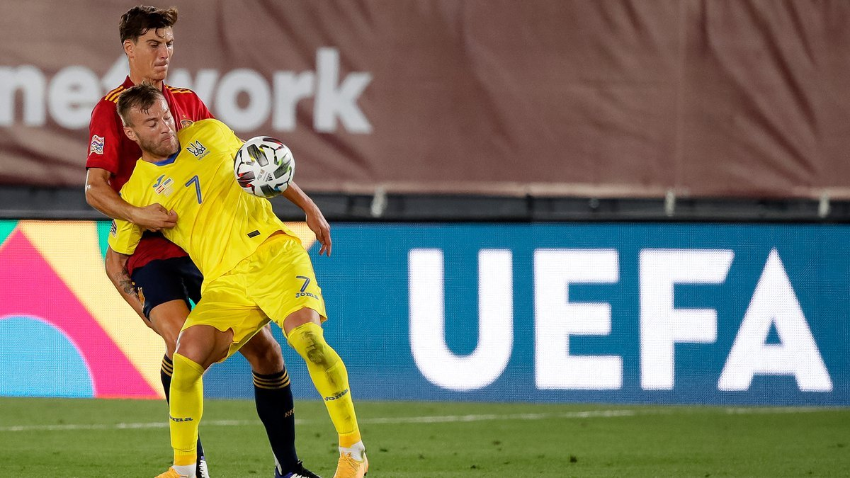 Украина – Испания: Заховайло сделал смелый прогноз на матч Лиги наций