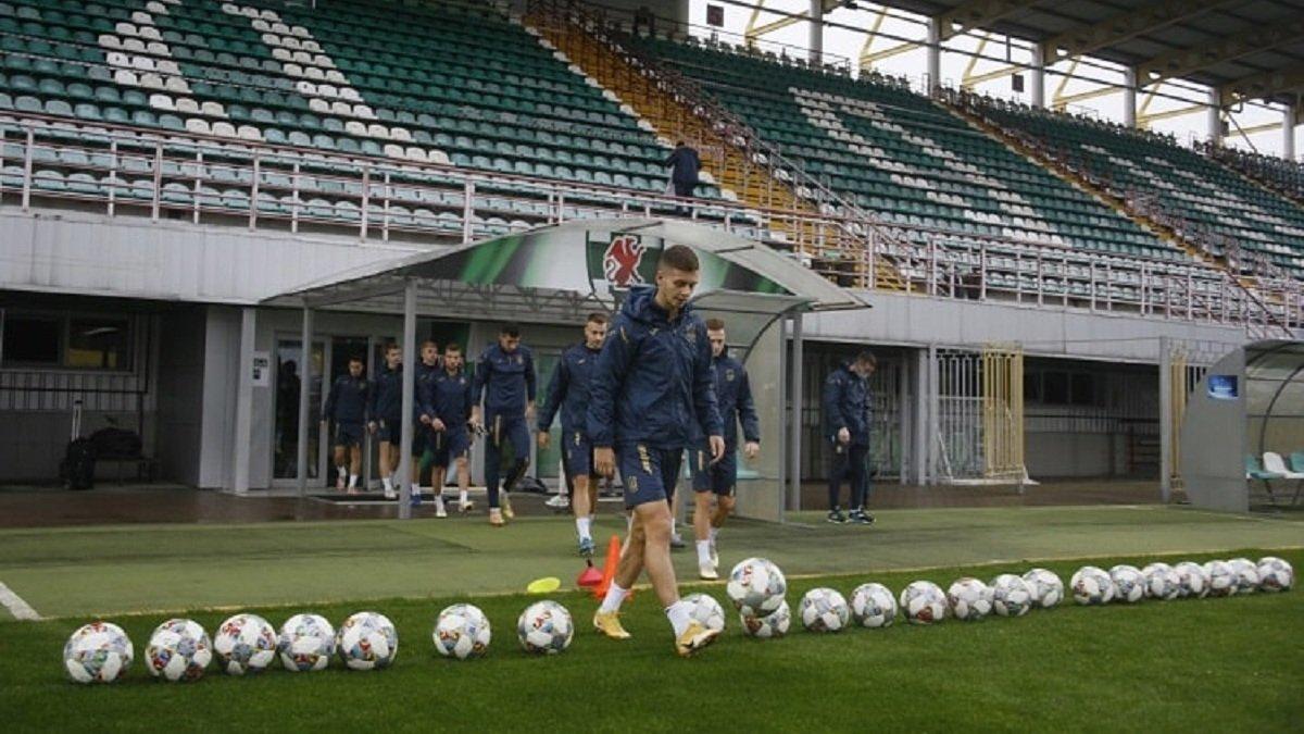 Северная Ирландия U-21 – Украина U-21: онлайн-трансляция матча квалификации к Евро-2021