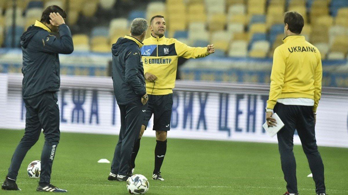 Украина – Испания: Шевченко объявил заявку на матч Лиги наций