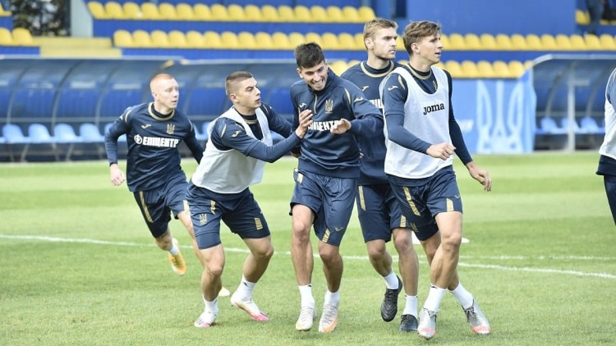 Украина – Испания: подопечные Шевченко провели последнюю тренировку перед матчем Лиги наций