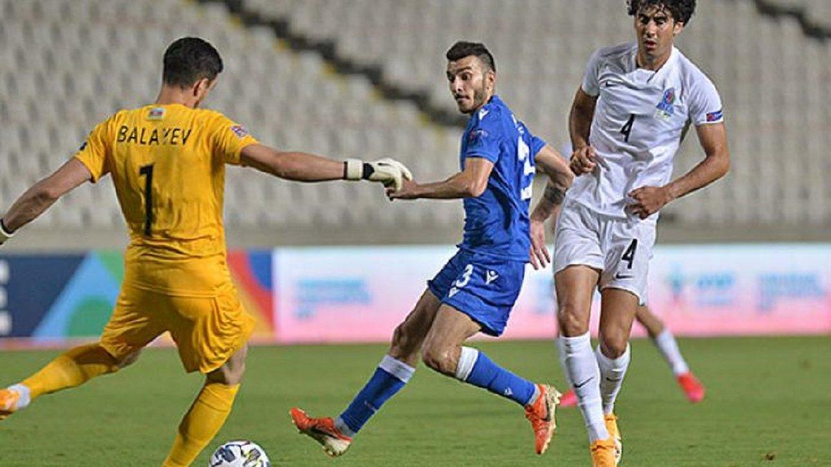 Лига наций: Азербайджан не смог одолеть Кипр из-за своего капитана, Люксембург Жерсона забрал лидерство у Черногории