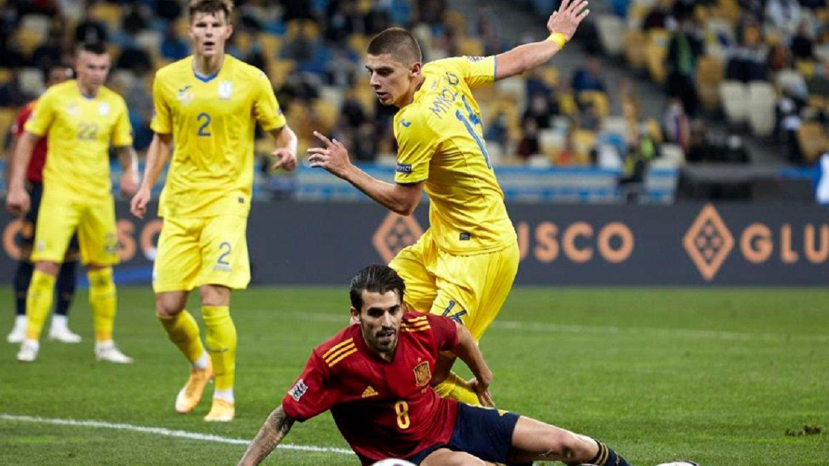 Украина – Испания: Себальйос виделил главную причину поражения пиренейцев -  Футбол 24