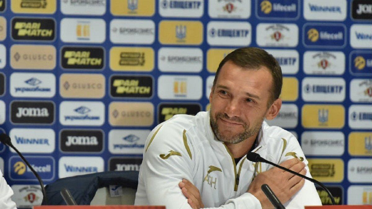 Шевченко вышел на второе место по количеству матчей во главе сборной Украины – впереди только Блохин