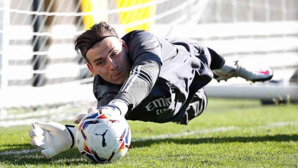 Лунин все же может дебютировать за Реал уже на выходных – Куртуа берегут на Шахтер
