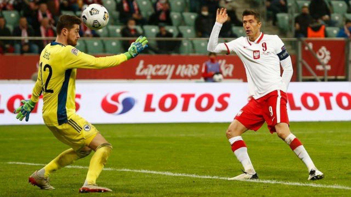 Роскошный перфоманс Левандовски в видеообзоре матча Польша – Босния и Герцеговина – 3:0
