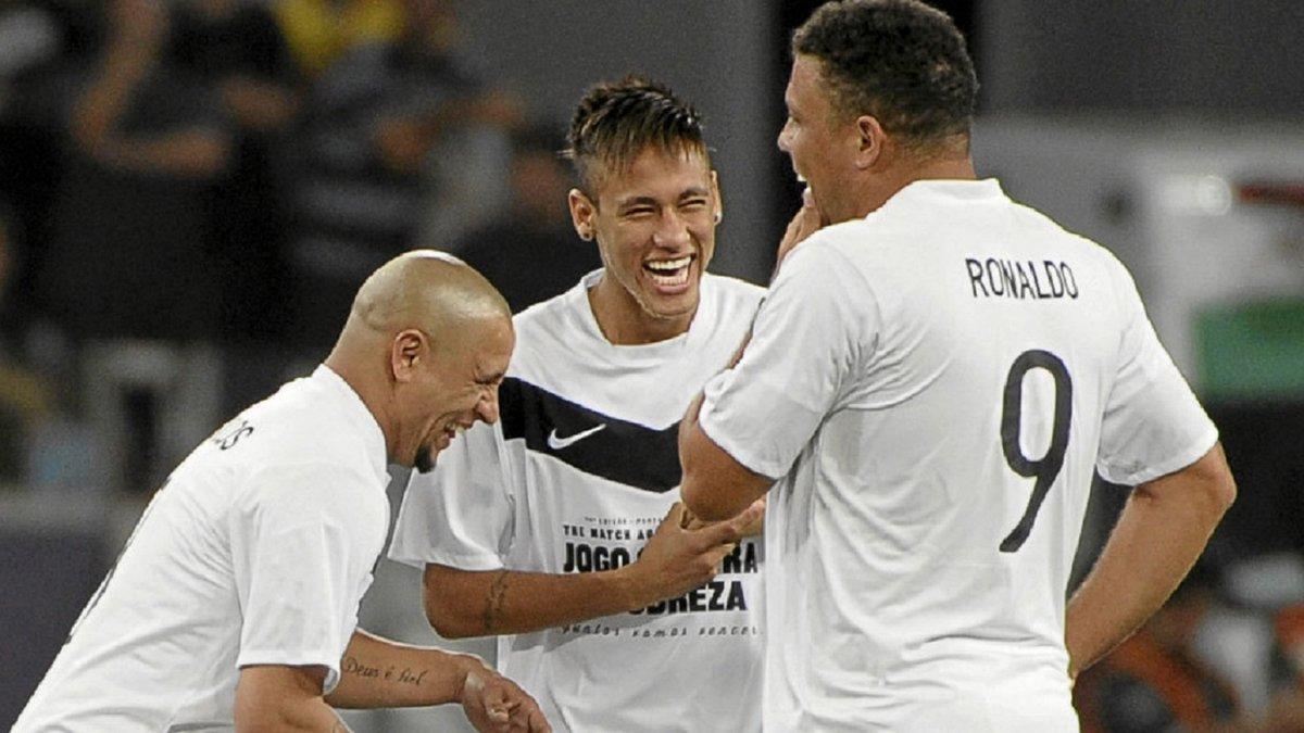 """""""Лети, малыш!"""" – Роналдо трогательно отреагировал на рекорд Неймара, который затмил достижения """"зубастика"""""""