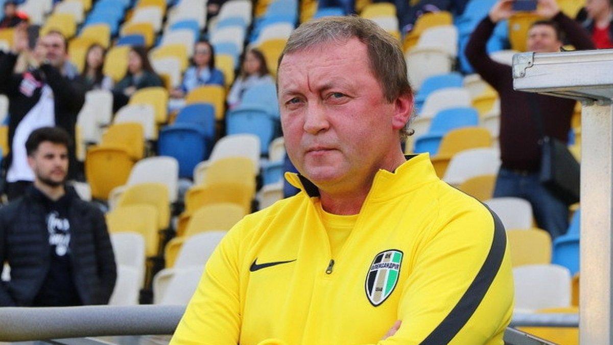 Шаран заявив, що Інгулець відмовив Олександрії у перенесенні матчу