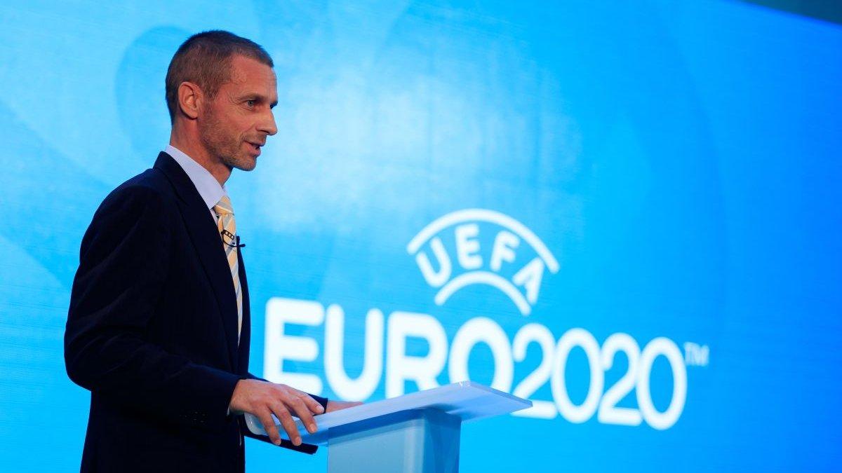Євро-2020: Чеферін підтвердив можливість скорочення кількості міст-господарів