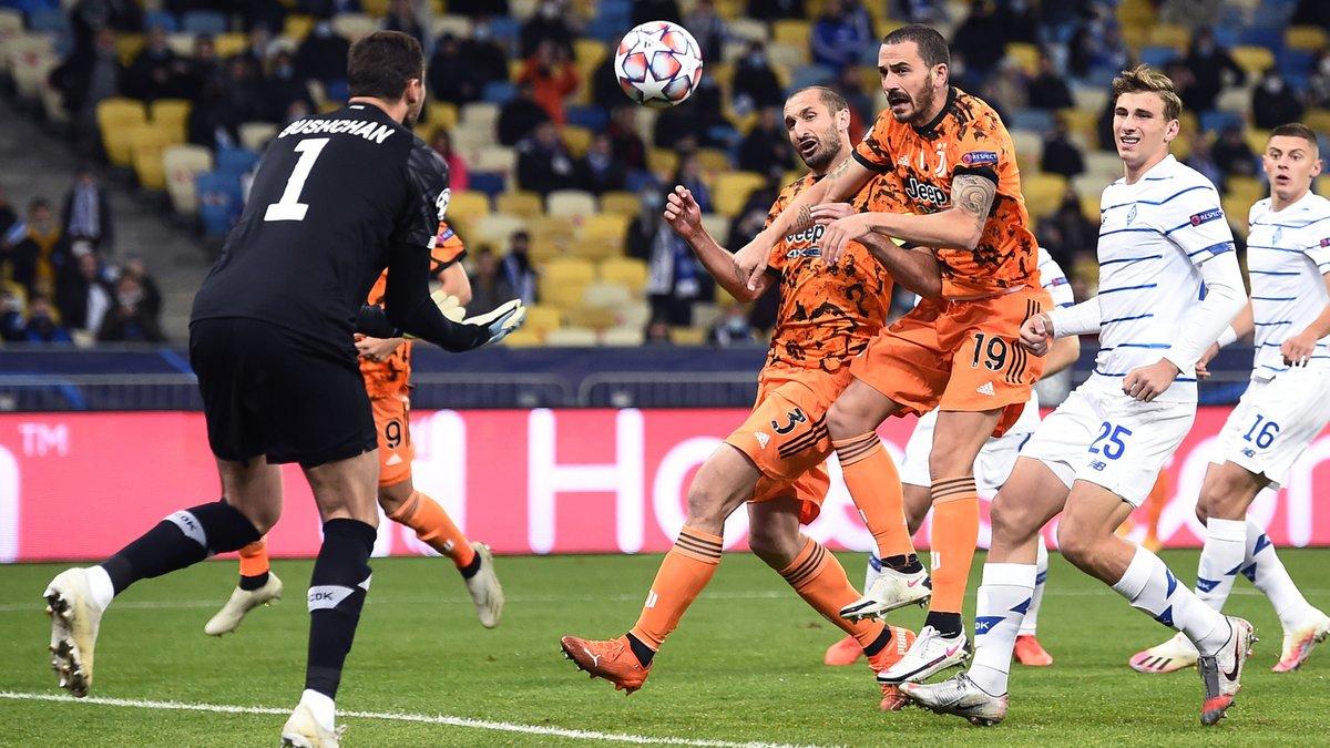Динамо – Ювентус – 0:2 – видео голов и обзор матча