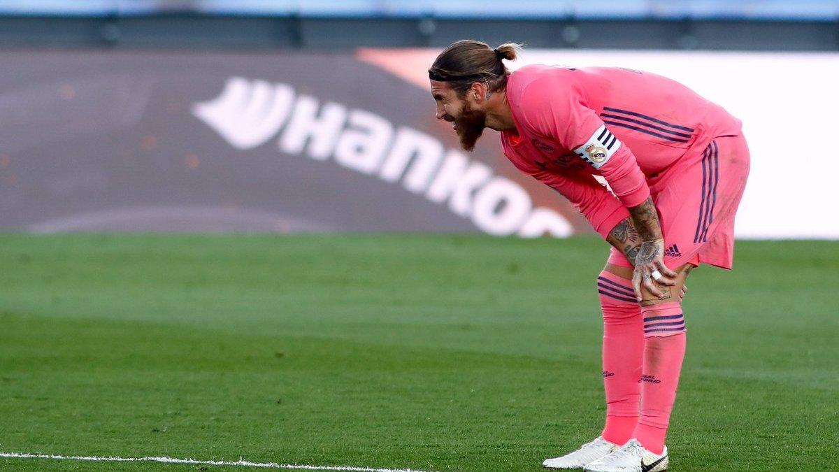Рамос не доиграл матч против Кадиса – у Реала могут возникнуть серьезные проблемы перед Шахтером и Барселоной