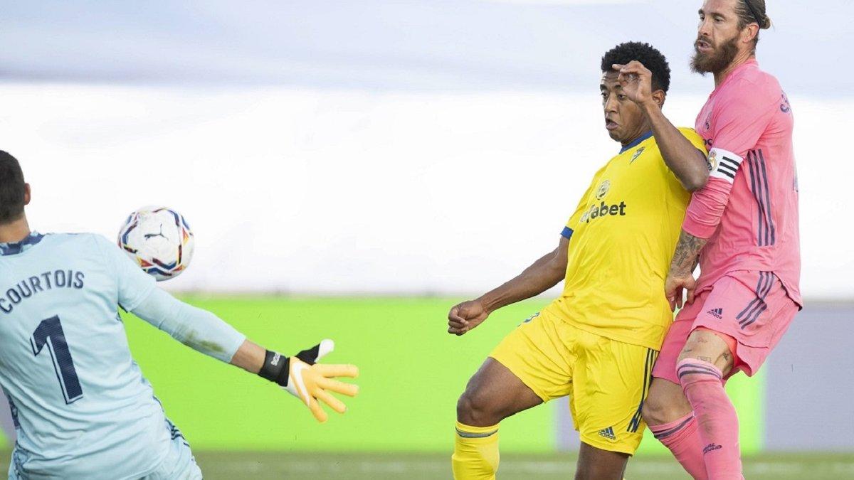 Реал – Кадіс – 0:1 – відеоогляд першої поразки команди Зідана в сезоні