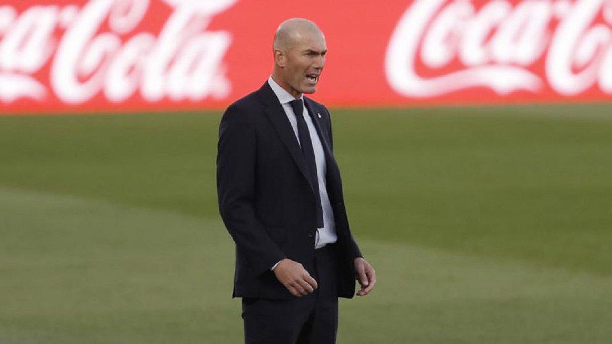 Зидан прокомментировал позорное поражение Реала от Кадиса