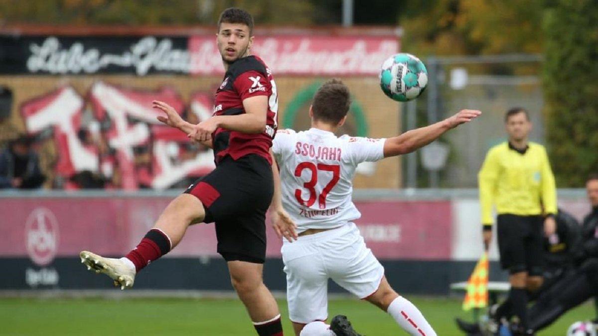 Форвард молодежной сборной Украины оформил дубль в матче Бундеслиги U-19