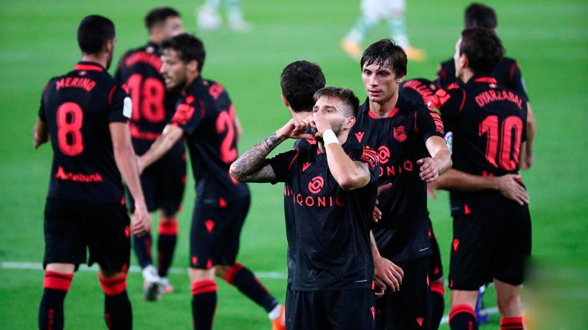 Реал Сосьєдад розгромив Бетіс та очолив турнірну таблицю Ла Ліги, Вільяреал вдома переміг Валенсію
