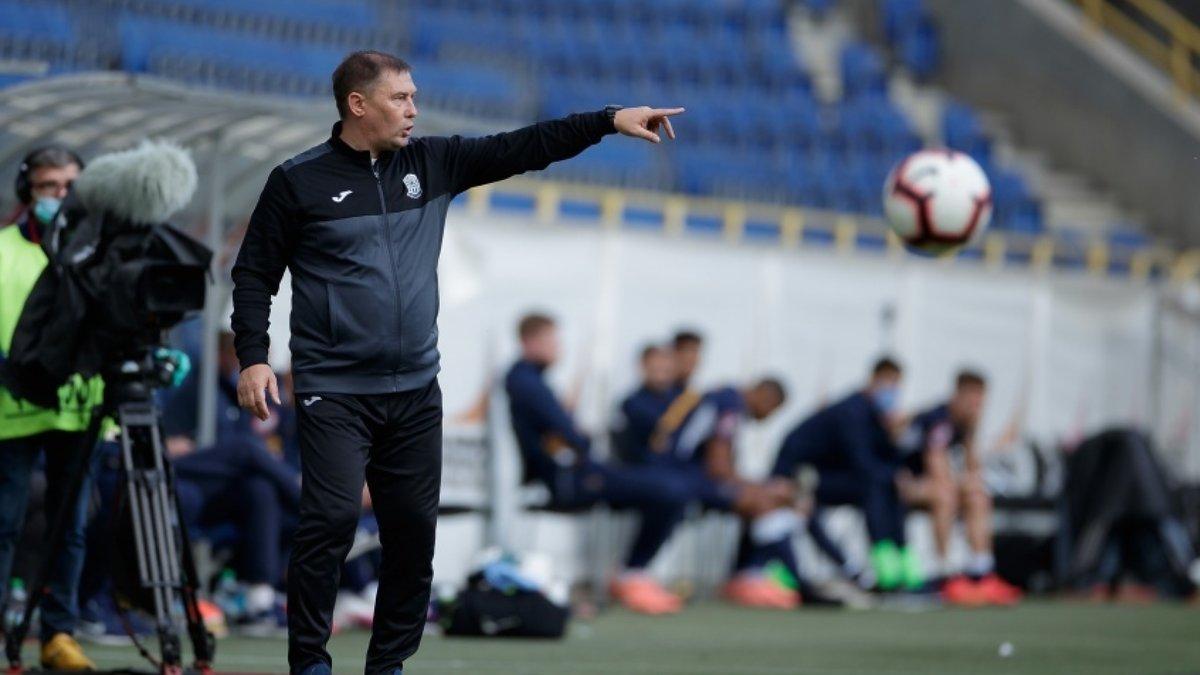 Олимпик – Ворскла: Климовский считает результат поединка несправедливым