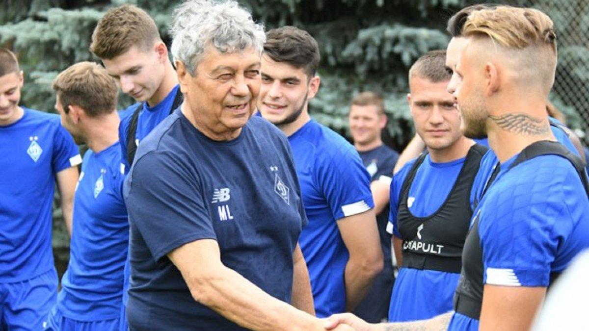 Луческу закликав молодих гравців Динамо не звертати увагу на колишніх легенд київського клубу