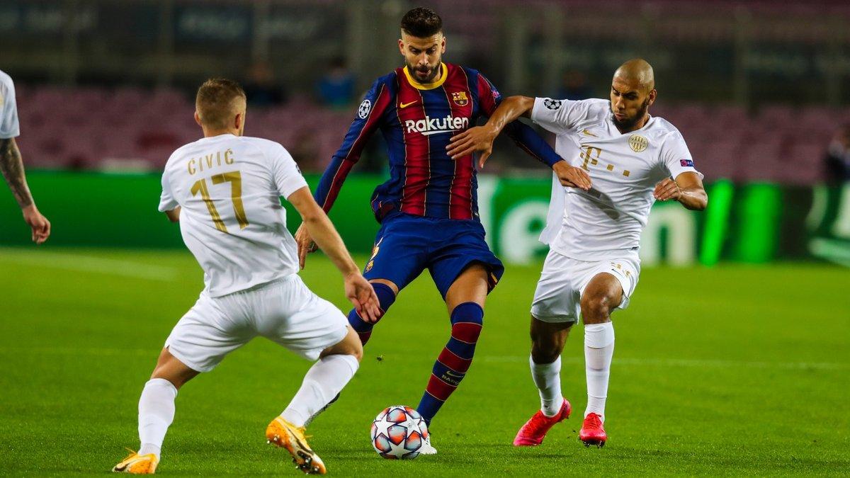 Голы Месси, Фати и Харатина в видеообзоре матча Барселона – Ференцварош – 5:1