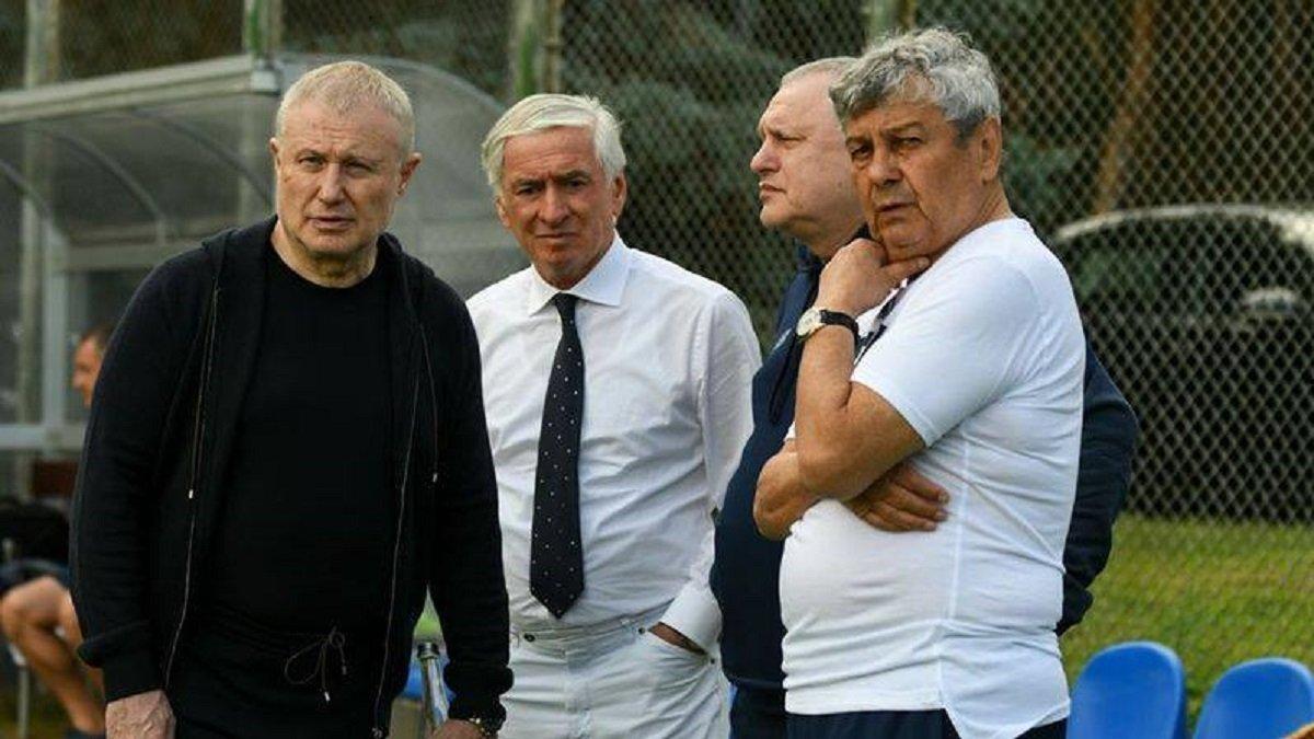 Динамо – Ювентус: братья Суркисы посетили предматчевую тренировку подопечных Луческу