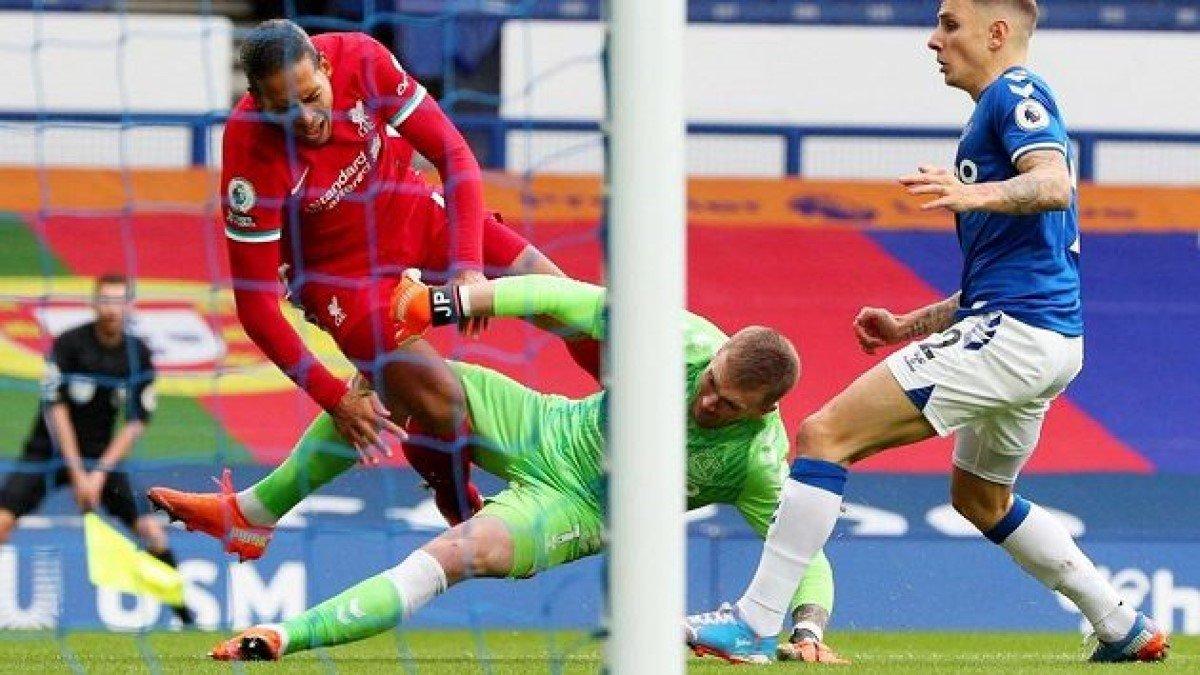 Евертон – Ліверпуль: Пікфорд та Рішарлісон отримали погрози після скандального матчу