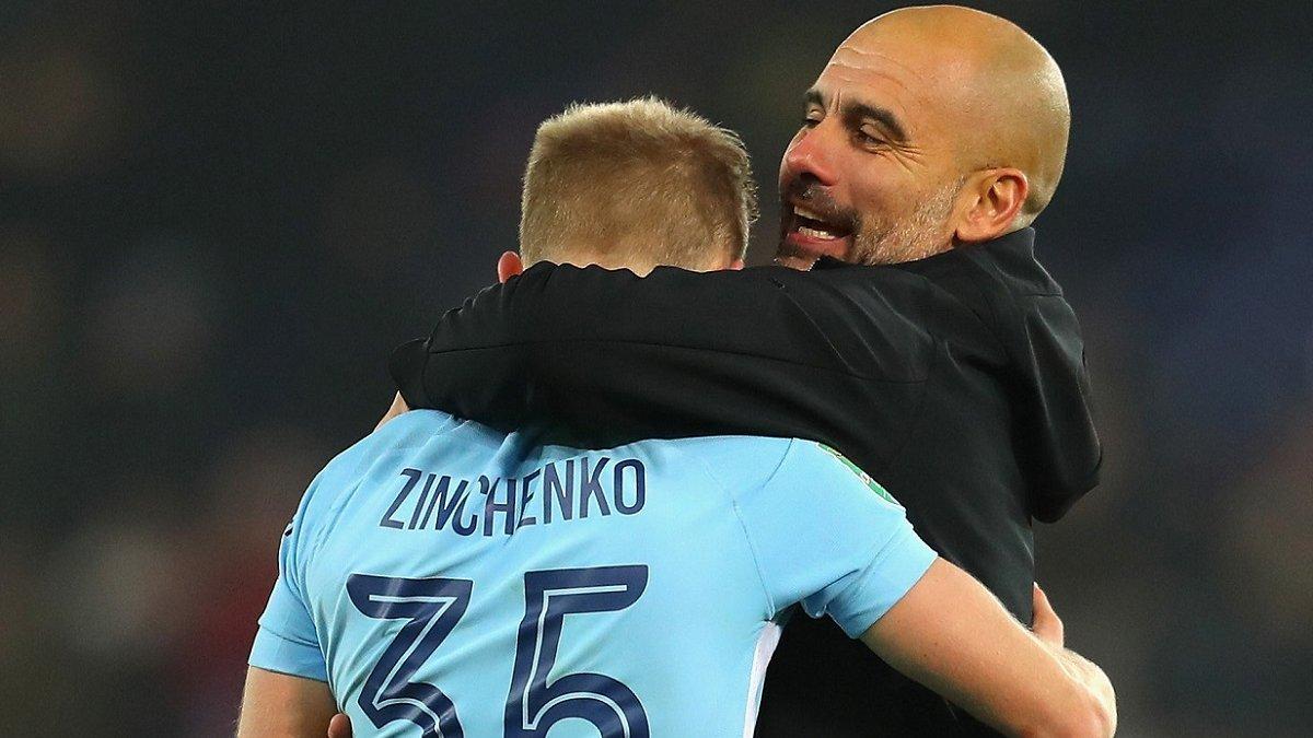 Зинченко восстановился от травмы, другие звезды Манчестер Сити тоже на подходе, – Гвардиола