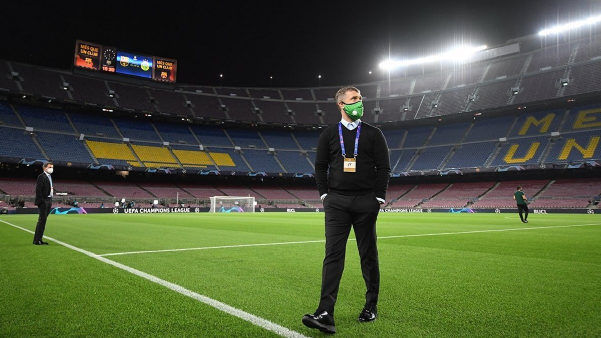 Барселона – Ференцварош: Ребров оценил действия своих подопечных на поле именитого гранда