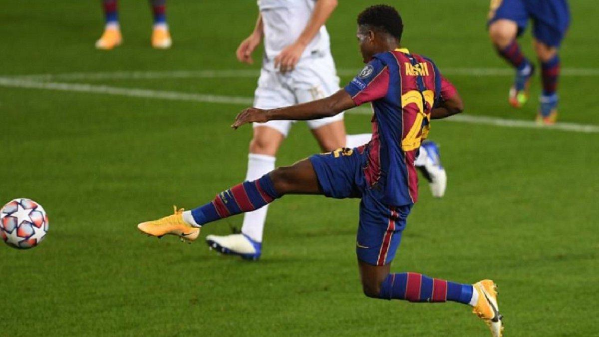 """Барселона встановила черговий рекорд – одразу двоє неповнолітніх забили за """"блаугранас"""" у Лізі чемпіонів"""