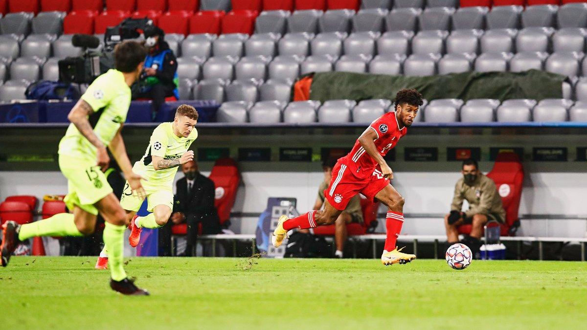 Лига чемпионов: Бавария уничтожила Атлетико, Манчестер Сити без Зинченко одолел Порту, датская феерия Аталанты