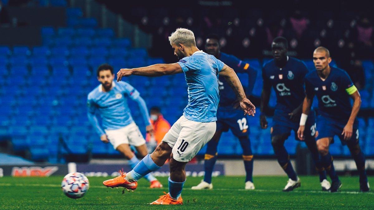 Божевільне соло, гол зі штрафного і безглуздий пенальті у відеоогляді матчу Манчестер Сіті – Порту – 3:1