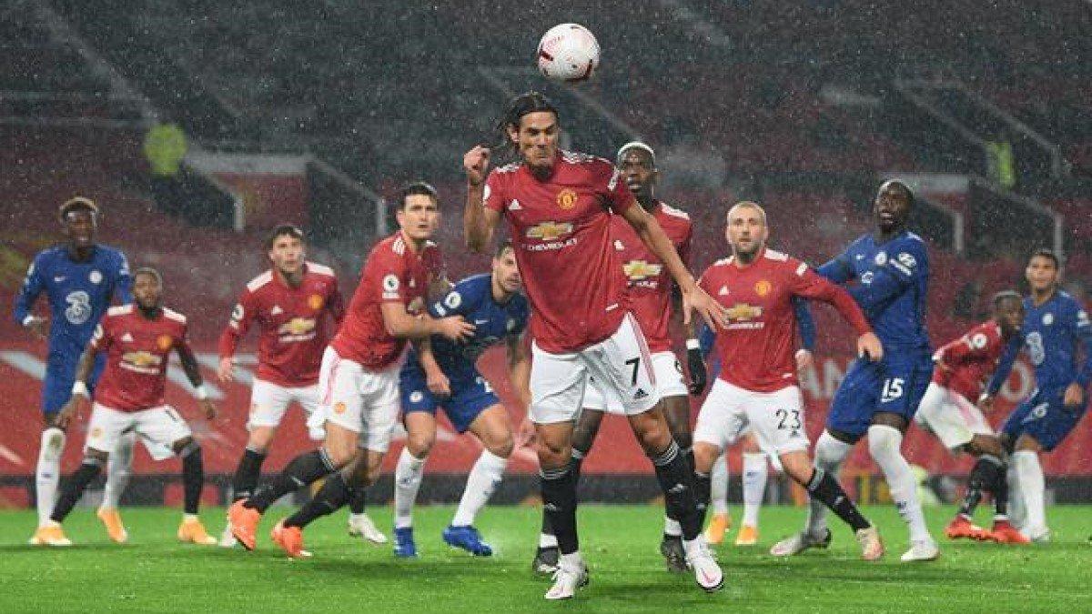 Дебют Кавани в видеообзоре матча Манчестер Юнайтед – Челси
